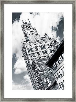 Gothic Towers - Asheville North Carolina Framed Print by Mark E Tisdale