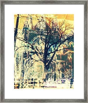 Gothic Trees Framed Print