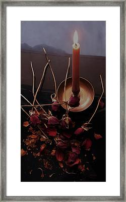 Gothic Witch's Spell Framed Print