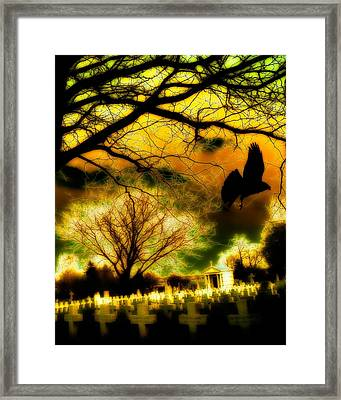 Gothic World Framed Print by Gothicrow Images