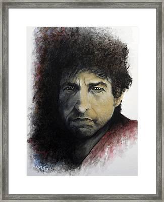 Gotta Serve Somebody - Dylan Framed Print by William Walts