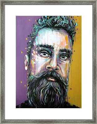 Gotzman Framed Print by Jeremy Scott