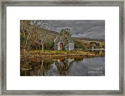 Gougane Barra Framed Print by Joe Cashin