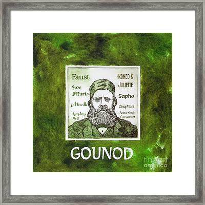 Gounod Framed Print by Paul Helm