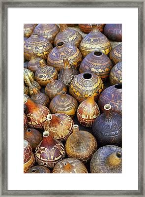 Gourds In Kenya Framed Print