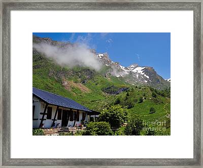 Gourette France - 01 Framed Print by Graham Taylor