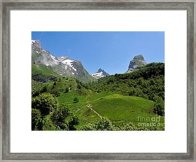 Gourette France - 02 Framed Print by Graham Taylor