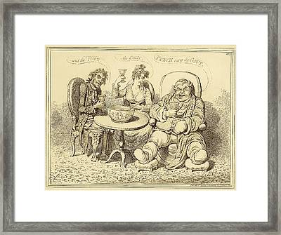 Gout Framed Print by National Library Of Medicine