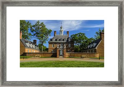 Govenors Home Framed Print