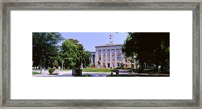Government Building In A City, City Framed Print