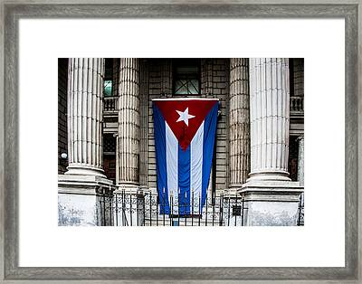 Government Building Framed Print