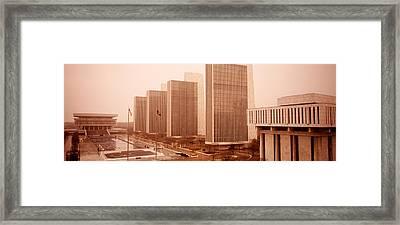 Government Center, Albany, New York Framed Print