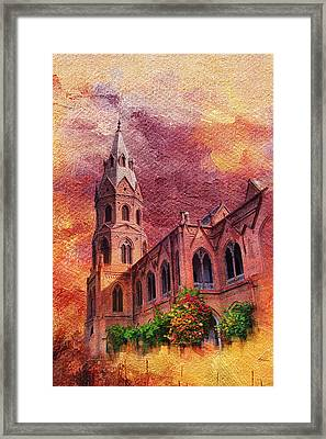 Government College Lahore Framed Print by Catf