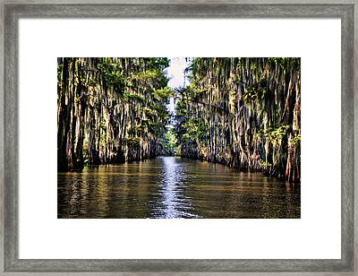 Government Ditch Framed Print