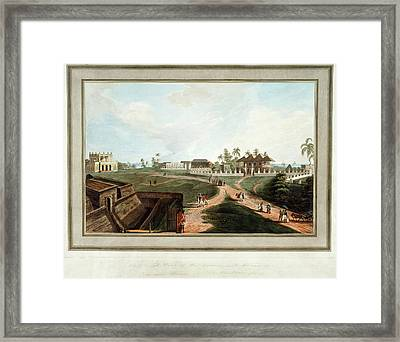 Government House And Council House Framed Print