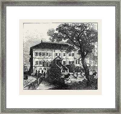 Government House Framed Print by English School