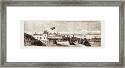 Government House, Victoria, British Columbia Framed Print