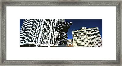 Government Of The People Sculpture Framed Print
