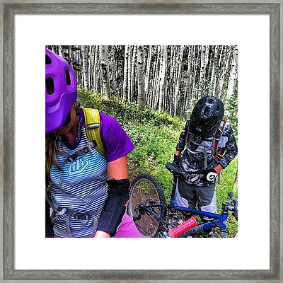 #governmenttrail With Tate And Ange Framed Print