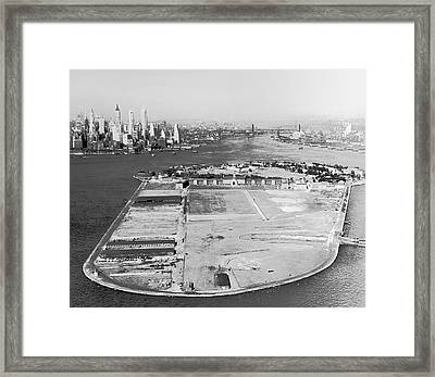 Governors Island In Ny Framed Print