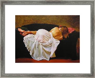 Gowned Framed Print by Ron McDowell