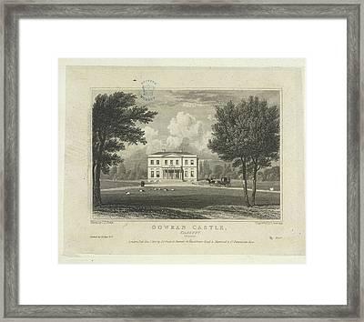 Gowran Castle Framed Print