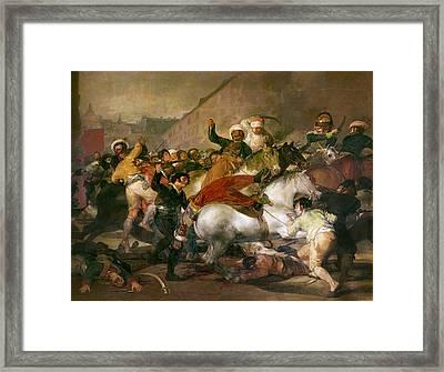 Goya Second Of May 1808 Framed Print