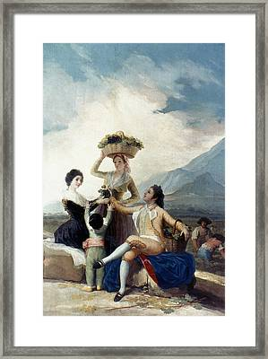 Goya The Vintage Framed Print by Granger