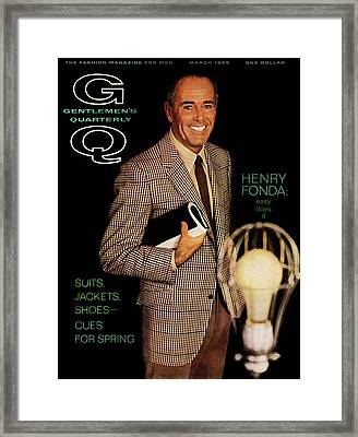 Gq Cover Of Henry Ford Framed Print