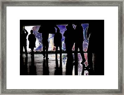 Grab Your Coats Gentlemen... Framed Print by J D Owen