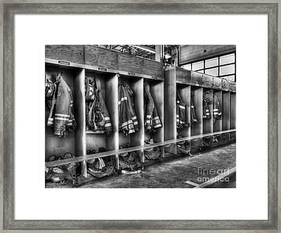 Grab Your Gear 2 Framed Print by Mel Steinhauer