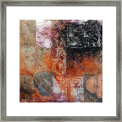 Grace And Chaos Framed Print