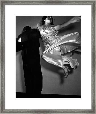 Grace And Paul Hartman Dancing Framed Print