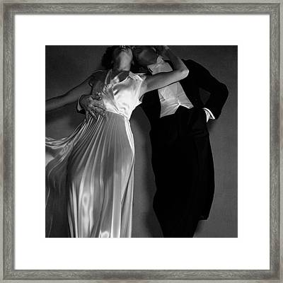 Grace And Paul Hartman Framed Print by Edward Steichen