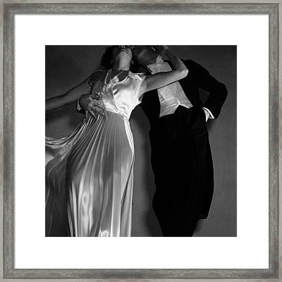 Grace And Paul Hartman Framed Print