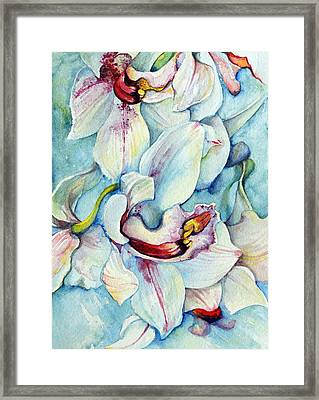Grace And Peace Framed Print