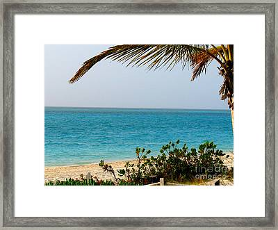 Grace Bay Framed Print by Patti Whitten