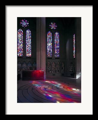 Streaming Light Framed Prints