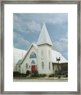 Grace Church Framed Print