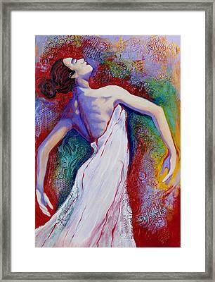 Grace Framed Print by Claudia Fuenzalida Johns
