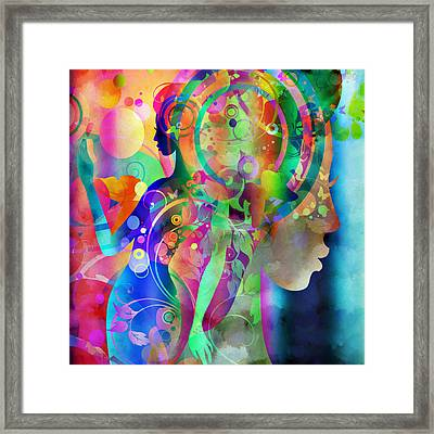Grace In The Light Framed Print