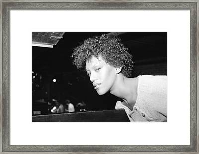 Framed Print featuring the photograph Grace Is A Woman by Steven Macanka