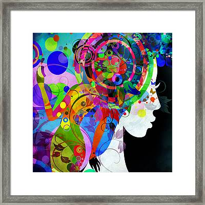 Grace Is Complicated Framed Print