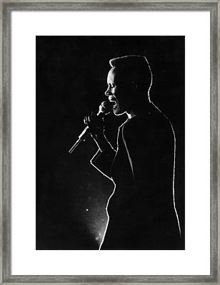 Grace Jones 1979 Framed Print by Chris Walter