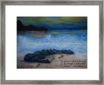Grace  Framed Print by Kat Poon