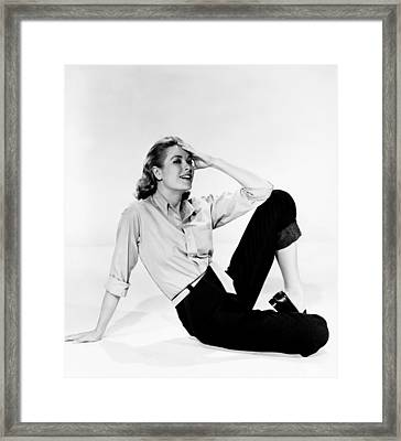 Grace Kelly, Paramount Portrait, Circa Framed Print by Everett