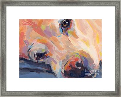 Grace Framed Print by Kimberly Santini