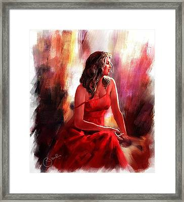 Grace Framed Print by Kiran Kumar