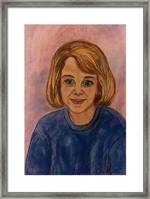 Grace Mahin Framed Print by Kendall Kessler