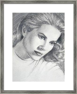 Grace Framed Print
